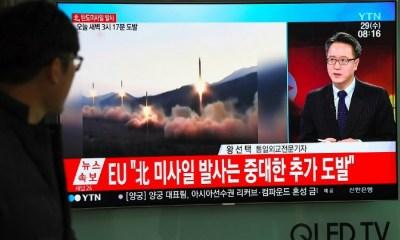 Corea del Norte lanzó un misil intercontinental, Misil balístico, Misil intercontinental, Corea del Norte, Norcorea, Donald Trump