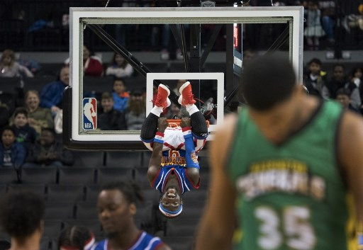 Jahmani Swanson es el basquetbolista de 1.35 m que llegó a los Harlem Globetrotters 000_VF87C