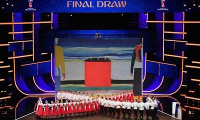 sorteo del Mundial Rusia 2018, Alsou, Nuno Betancourt, Rusia 2018, Mundial de Rusia 2018, ceremonia de sorteo Rusia 2018
