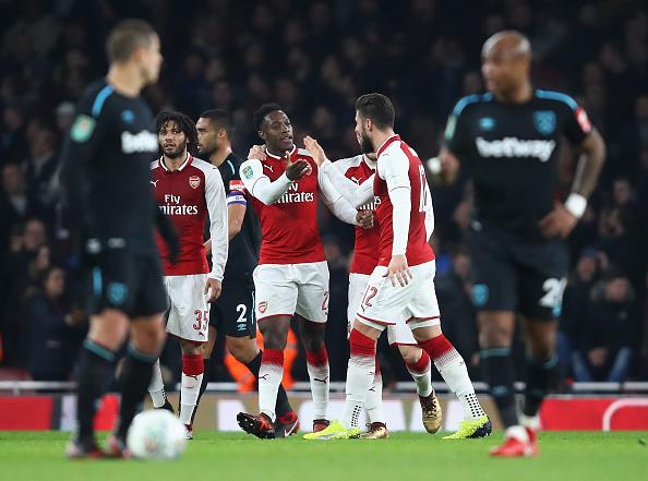 West Ham fue eliminado de Copa frente a Arsenal 895580140