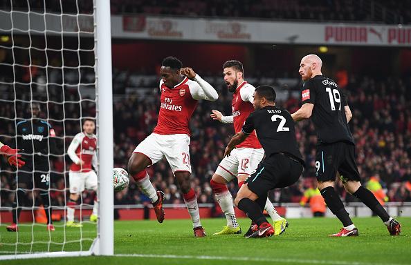 West Ham fue eliminado de Copa frente a Arsenal 895585306