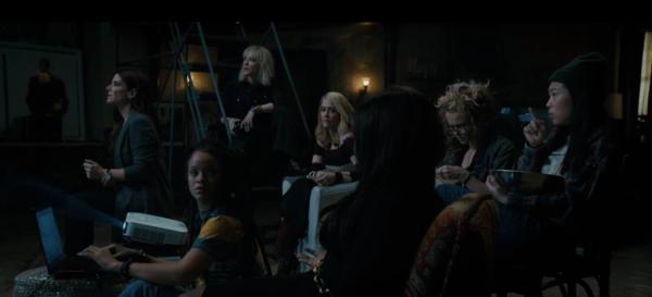 """Estrenan el trailer de """"Ocean's 8"""", el femenino spin off de """"La Gran Estafa"""" Captura-de-pantalla-2017-12-19-a-las-12.23.57-600x273"""