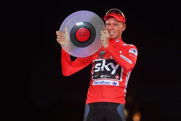 Froome fue campeón en la Vuelta