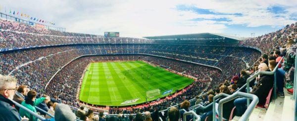 Camp Nou estadio de Barcelona