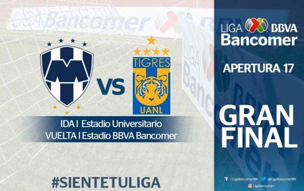 """Monterrey enfrentará a Tigres en la final de Liga Mx, Monterrey a la Final, Liga MX, Apertura 2017, Monterrey vs Tigres final, """"Clásico Regio"""""""