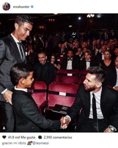 Polémica en foto de Ronaldo Jr.