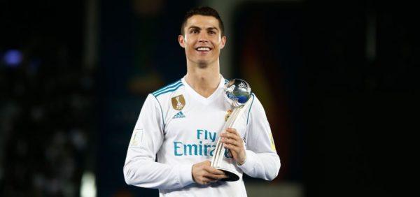 Cristiano Ronaldo como el mejor jugador