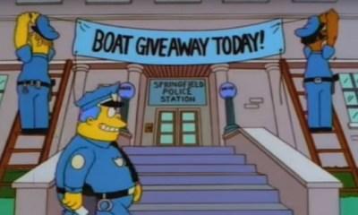 detienen a delincuentes con un método de Los Simpsons, Los Simpsons ayudaron a la policía, 21 delincuentes detenidos por método de Los Simpsons