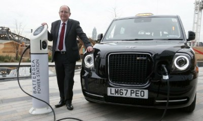 Taxis de Londres ya son eléctricos