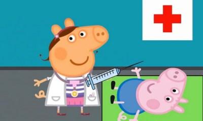 Peppa pig es el enemigo público de los doctores