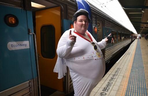 Fans de Elvis Presley, Elvis Presley, cumpleaños de Elvis Presley, Blue Suede Express, Fans de Elvis Presley en Sidney