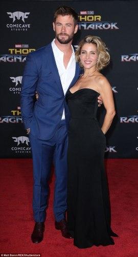 Chris Hemsworth y Elsa Pataky fueron criticados por un video de su hijo 45363D1500000578-4968622-image-m-52_1507692986517-270x500