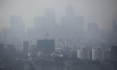 Londres superó los límites de contaminación, Londres, Contaminación,