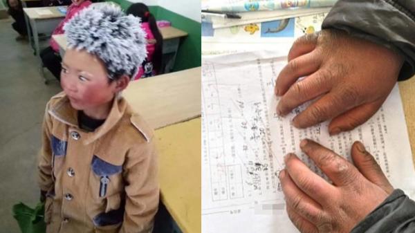 Este niño que llega congelado a la escuela ha conmovido al mundo ni%C3%B1o_congelado-1515604891-600x337
