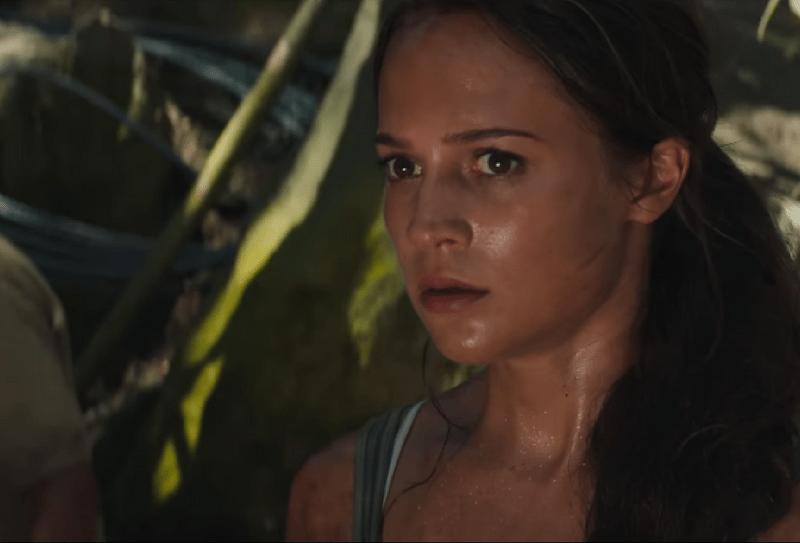 segundo trailer de Tomb Raider , Tomb Raider, película de Tomb Raider, Alicia Vikander