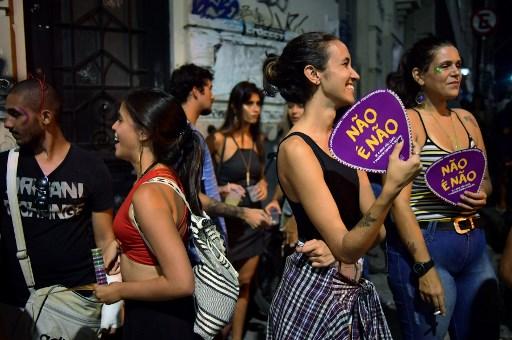 """""""No es no"""": la campaña contra el acoso en el Carnaval de Río de Janeiro 000_Z99KI"""