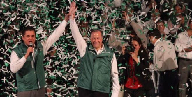 José Antonio Meade rinde protesta para el PVEM como candidato para la presidencia de México Precandidato-PRI-Jos%C3%A9-Antonio-Meade-Verde-Ecologista-acuerdo-de-plataforma-electoral-PVEM-FOTO-Leo-Casas-5-600x305