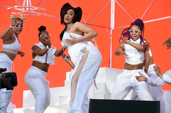 Cardi B baila twerking embarazada durante el Coachella 946746116