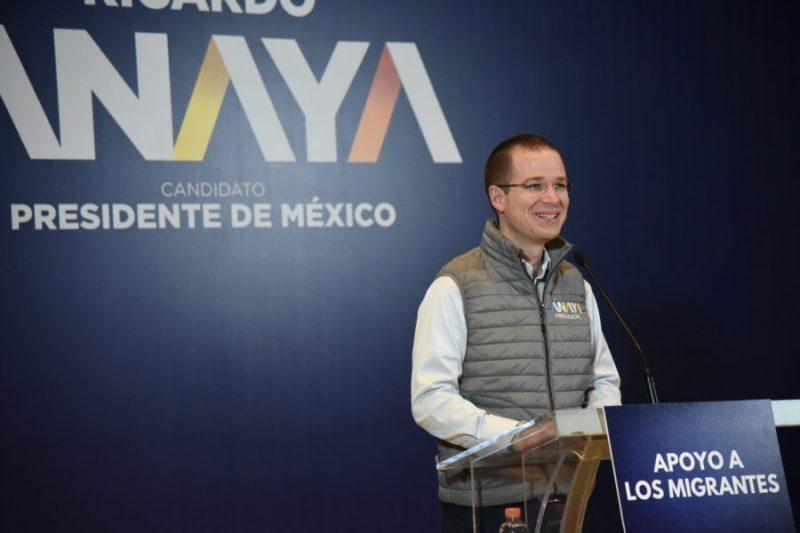 Ricardo Anaya promete trabajar a favor de los migrantes DSC_3898