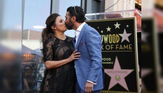 Eva Longoria recibió la estrella en el Paseo de la Fama en Hollywood acompañada de celebridades eva-longoria-2-600x344