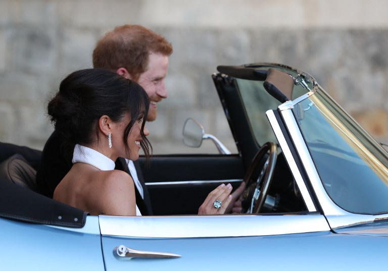 """El Príncipe Harry y Meghan Markle comienzan su nueva vida tras el """"triunfo"""" de su boda 000_1568JV"""