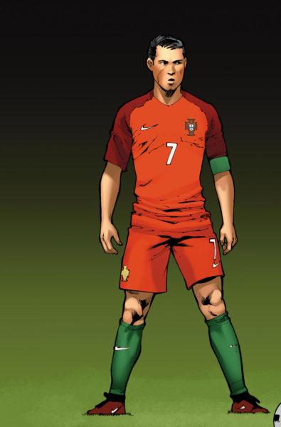 ¿Las estrellas del futbol son superhéroes? Crean cómic del mundial 0301-shift