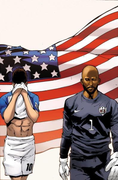 ¿Las estrellas del futbol son superhéroes? Crean cómic del mundial 0701