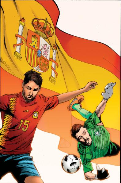 ¿Las estrellas del futbol son superhéroes? Crean cómic del mundial 1202
