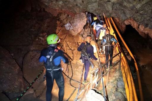Crónica: así fue el rescate de los niños en Tailandia 000_17A8FC-1
