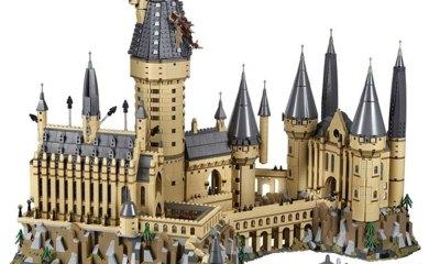 réplica del Castillo de Hogwarts