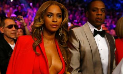 Beyoncé y Jay-Z usaron la camiseta de Francia