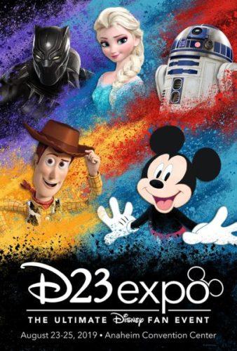 ¿Cuál será el costo de la entrada para D23, el evento bianual de Disney? D23-Expo-Poster-338x500