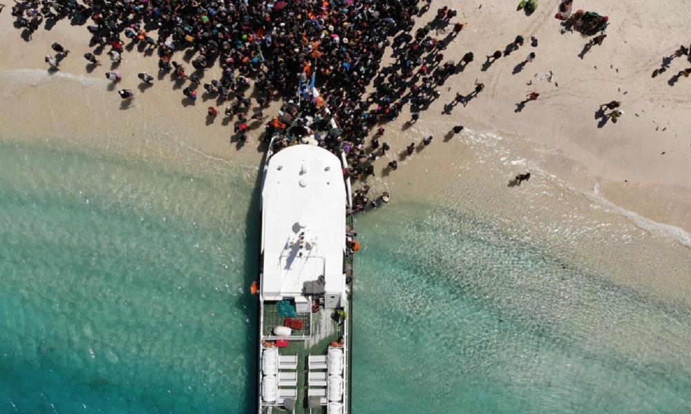 Galería: así huyeron de Indonesia tras el terremoto Huyeron-de-Indonesia-tras-el-terremoto-2