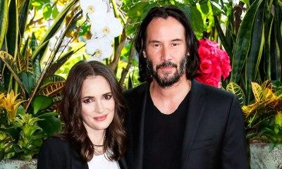 Winona Ryder y Keanu Reeves