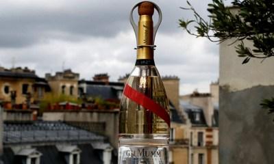 champán en el espacio