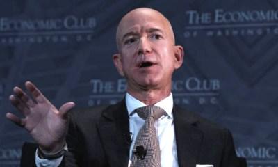 Jeff Bezos donará 2 mil MDD