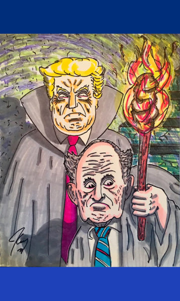 Exhibirán caricaturas de Jim Carrey sobre Donald Trump Jim-Carrey-Dibujos-03