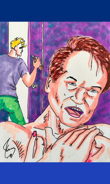 Exhibirán caricaturas de Jim Carrey sobre Donald Trump Jim-Carrey-Dibujos-07