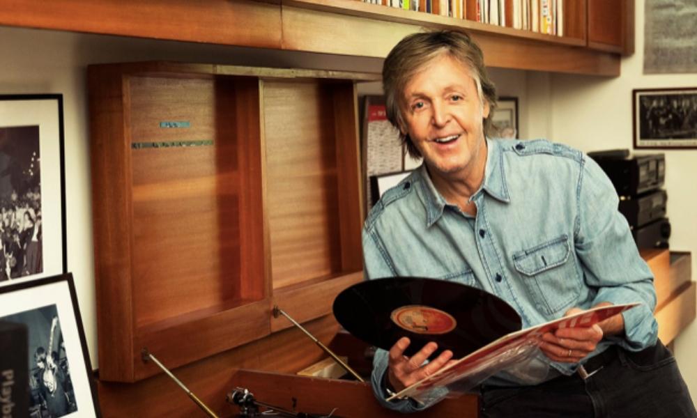 Paul McCartney regresó a la cima