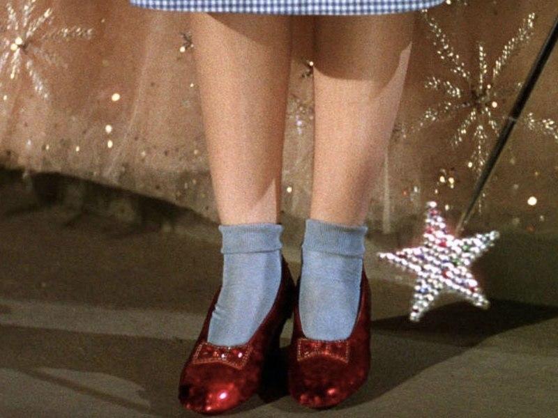 zapatillas del 'Mago de Oz'