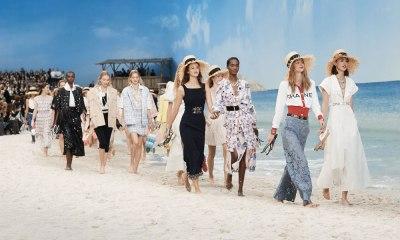 Chanel transformó París en una playa