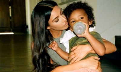 Kardashian es una mamá orgullosa