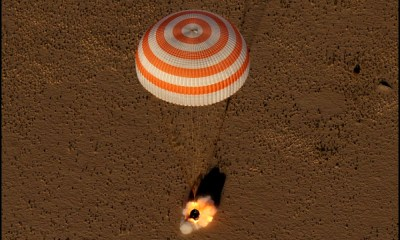 Astronautas volvieron a la Tierra