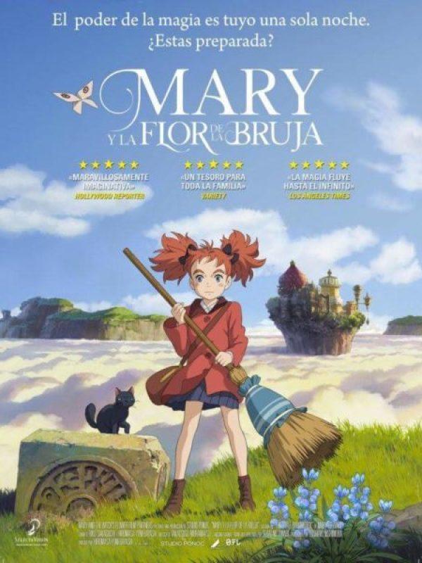 'Mary y la flor de la bruja': La nueva competencia de Studio Ghibli Do5TENEXoAAK_NE-380x500