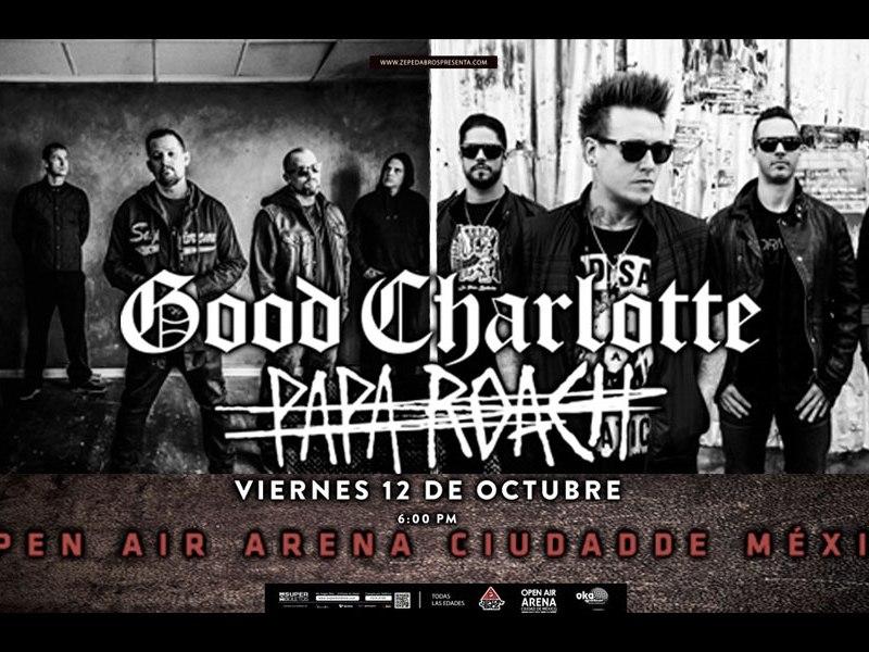 Papa Roach y Good Charlotte