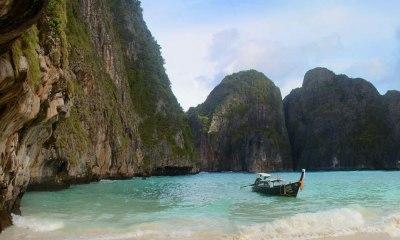 Playa famosa por la película de DiCaprio