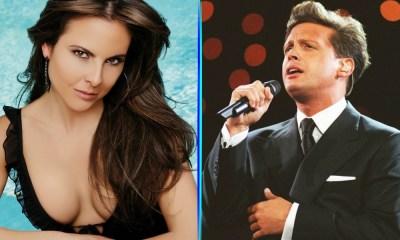 Luis Miguel le cantará a Kate del Castillo
