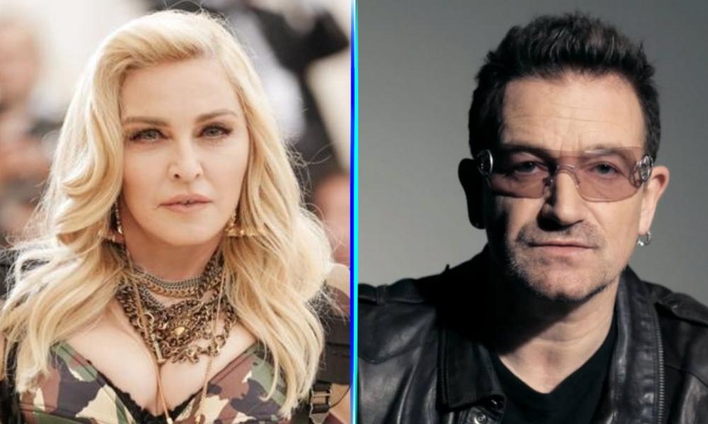 Madonna y Bono