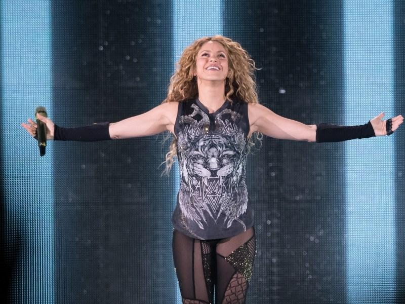 Shakira a México