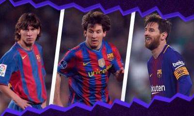 debut de Messi en el Barcelona